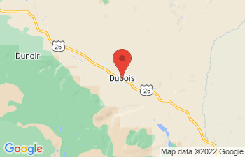 Map of Dubois